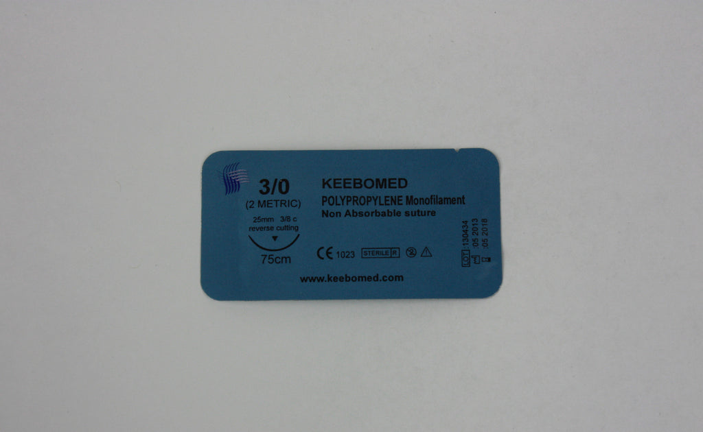 Sutures Polypropylene Monofilament--Keebomed
