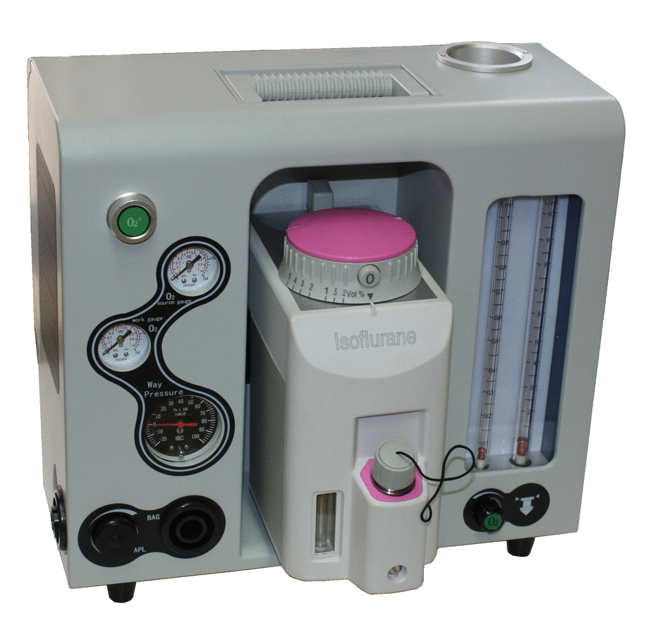 Anesthesia Machine RE902V - VET EQUIPMENT