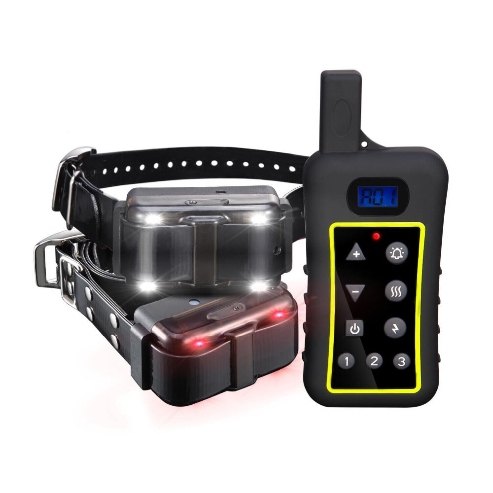 Rechargeable Electronic Remote Dog Training Shock Collar with Beep and Vibration - E-Collar with 2000meters Distance
