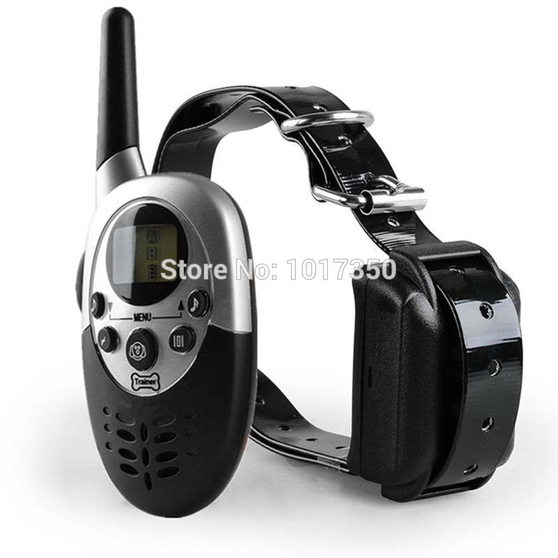 Rechargeble And Waterproof Remote Pet Training Collar Range 1000M Dog Trainer Electric Shock Large Dog Control Training System