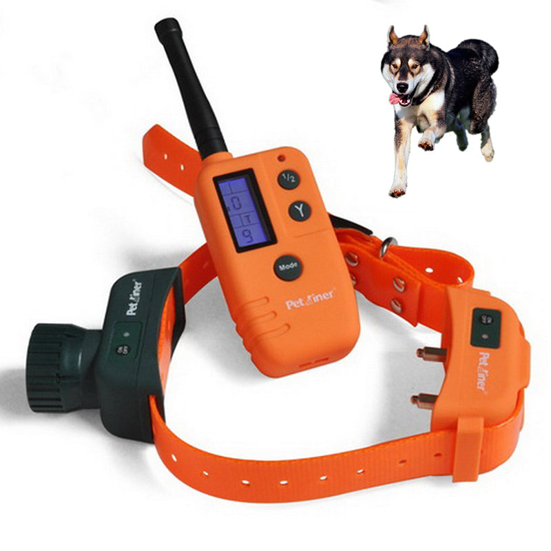 Remote Control  Pet Dog Training Collar in the Wild 9 kinds of sounds to choose  to control pets 500 meters distance Newest 2017