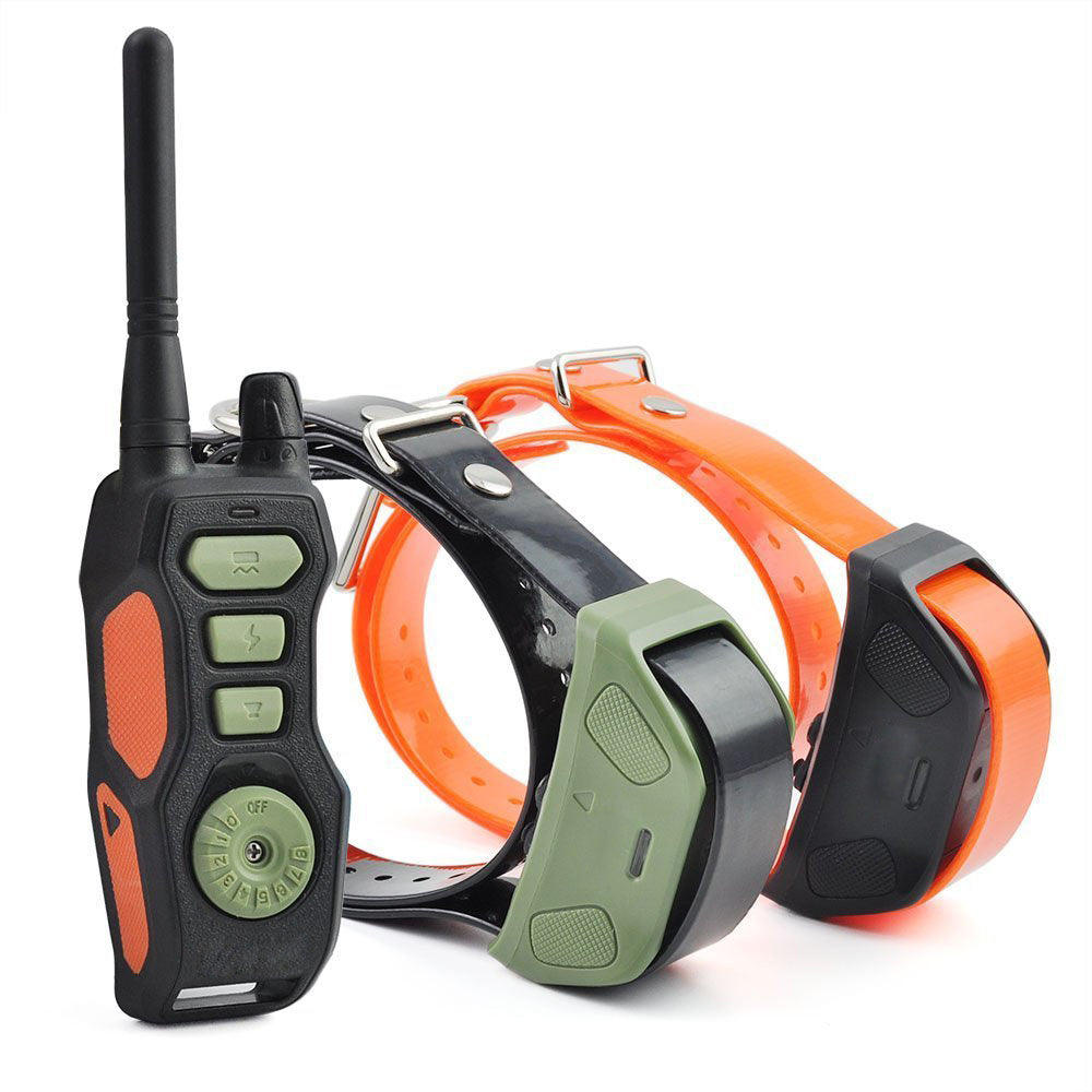 Remote Dog Shock Collar PET618 Waterproof & Rechargeable Training Collars with Beep Vibrating Electric Shock Trainer Collar