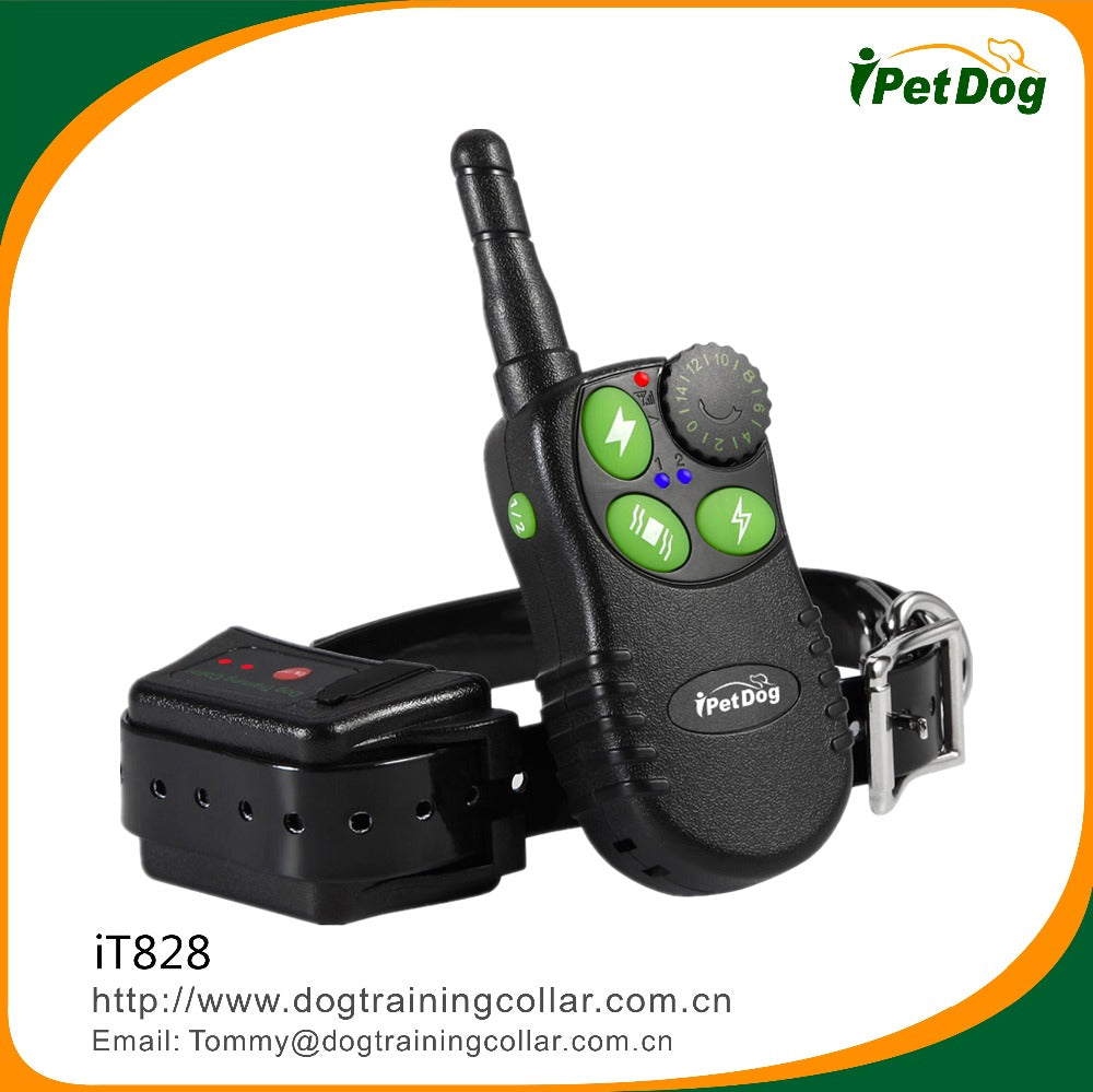 RoHs,CE certification dog training product electronic 550M remote dog shock control collar for human