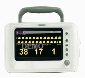 KM13C Portable EtCO2 Monitor for Capnography - VET EQUIPMENT