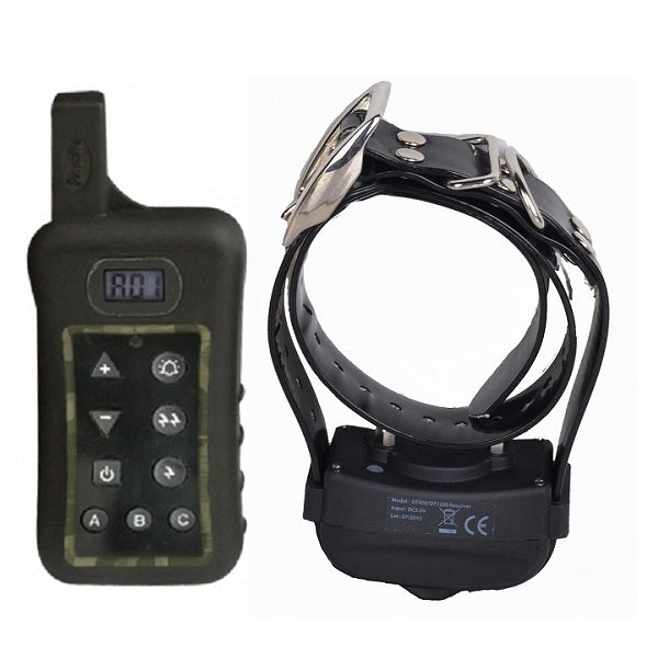 Shock Collar for dogs, Dog Training Collar with Remote Waterproof Receiver 400 Meters Range Dog training Collar with LCD Display