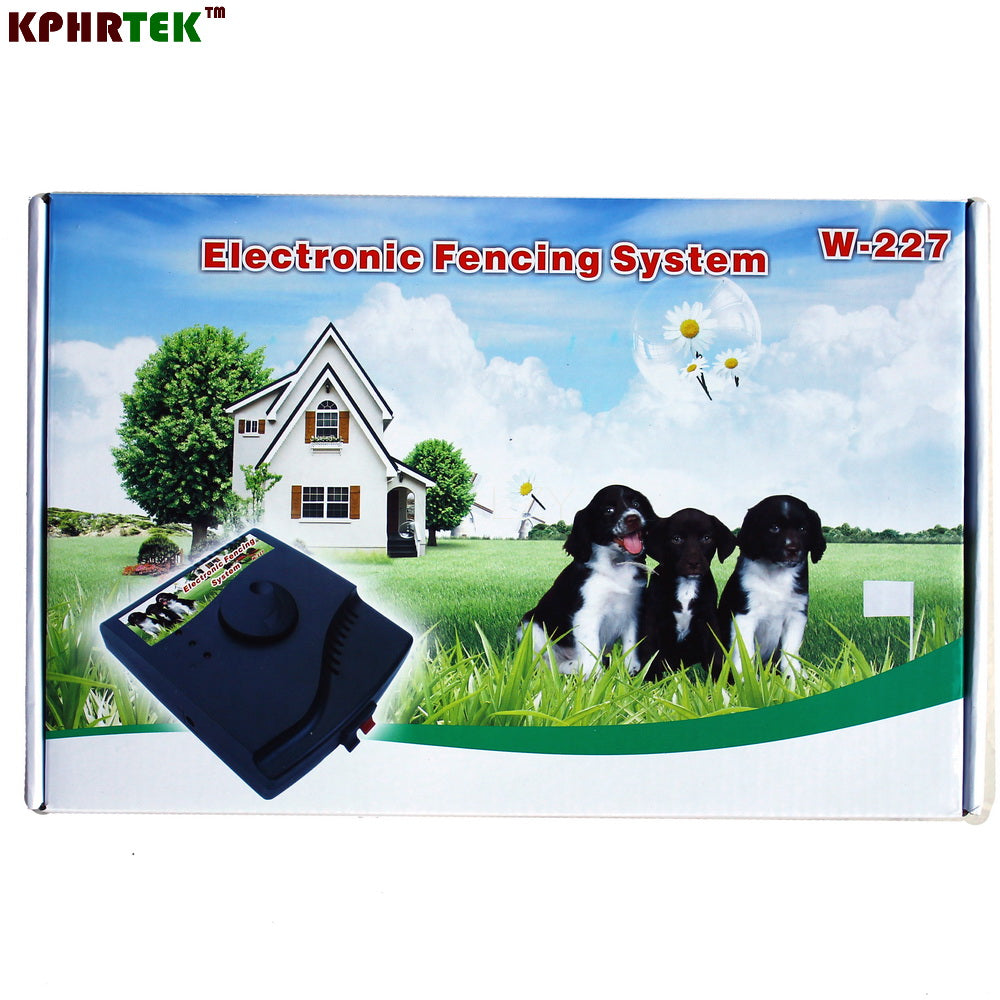 Smart Pet Dog In-Ground Electric Fencing Shock Training Collar System W-227 KPHR TEK W227