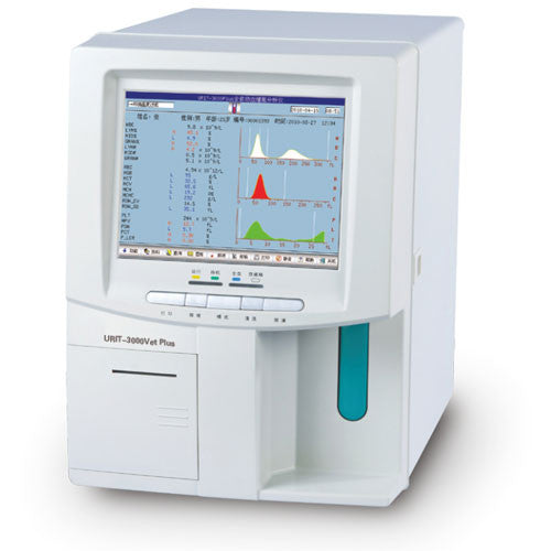 3000Vet Plus Automated Hematology Analyzer