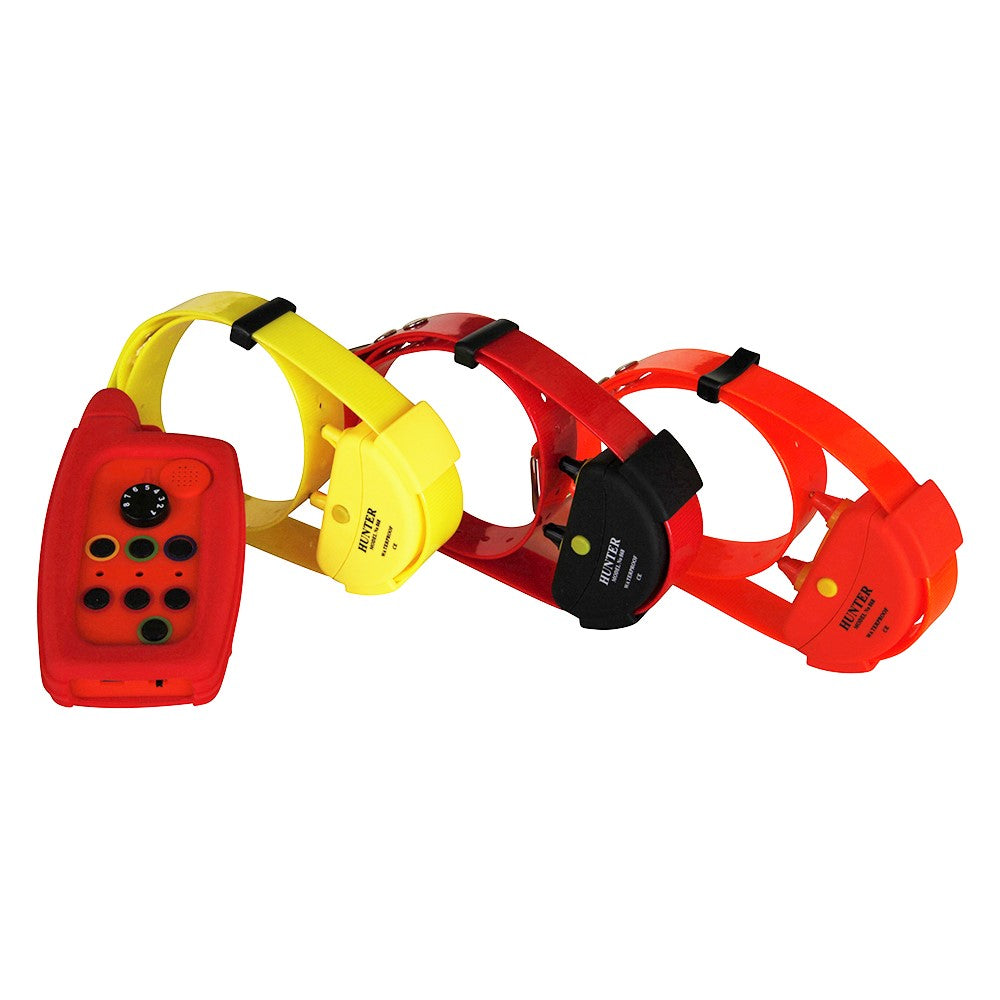 WATERPROOF REMOTE DOG TRAINING COLLAR FOR 3 DOGS RANGE UP TO 10 KM IN OPEN AREA REMOTE TRAINER
