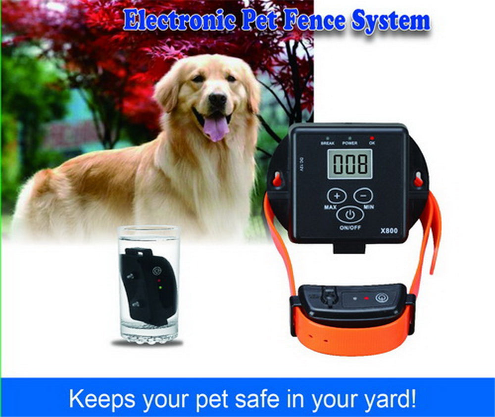 WODONDOG JH-X800 Electronic Pet Fence For Dogs Waterproof Dogs Training Electric Shock Collar Dog Supplies