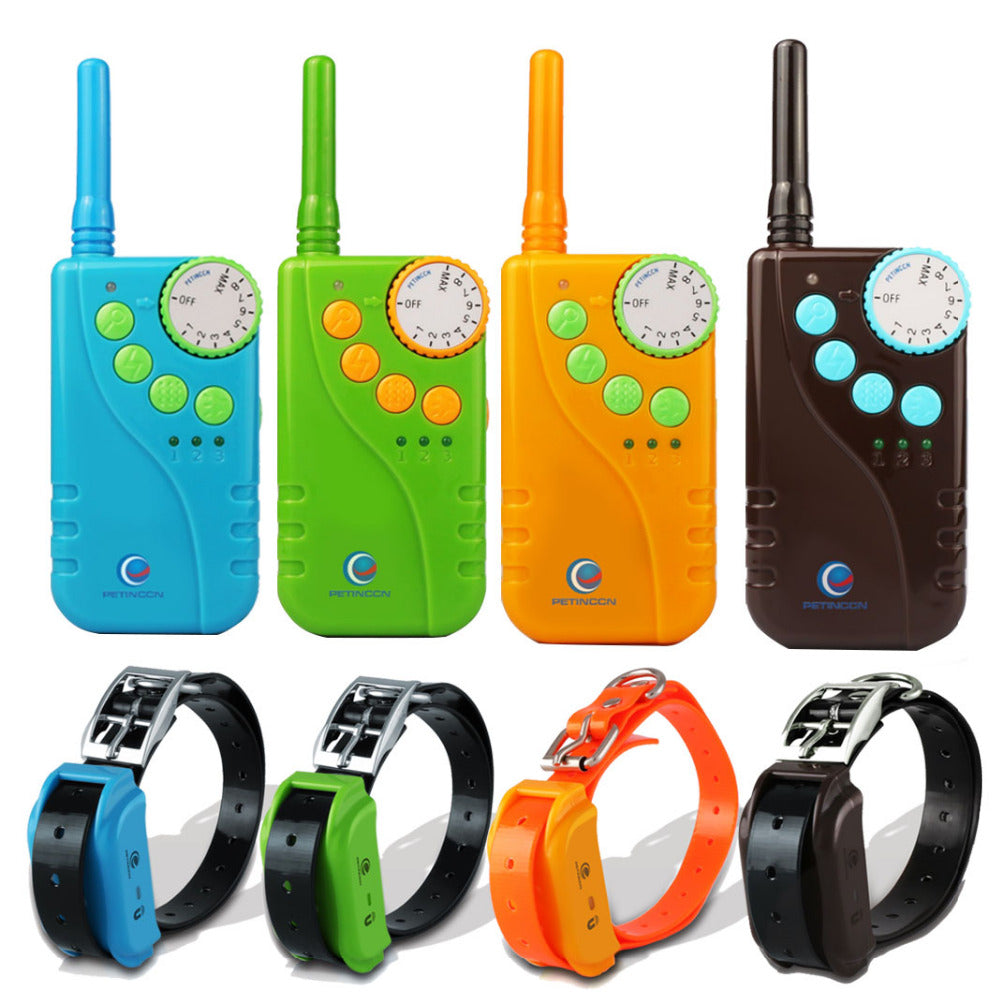 Waterproof 660M Remote Pet Dogs Electric Shock Training Collar Rechargeable Pet Dog Training Collar 4 Color