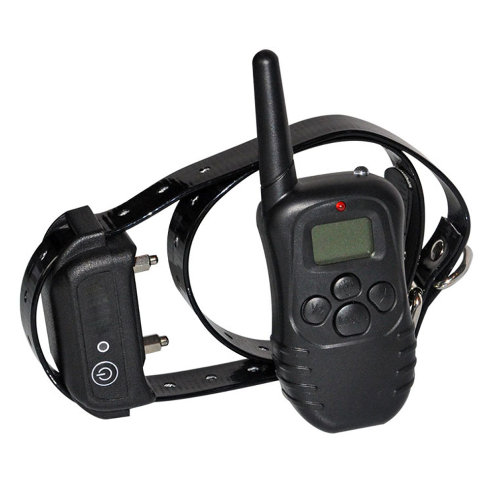 Waterproof Rechargeable Vibrate Pet Dog Training Collar 300M Remote Dog Training Collar PET998DB for 1 or 2 dogs