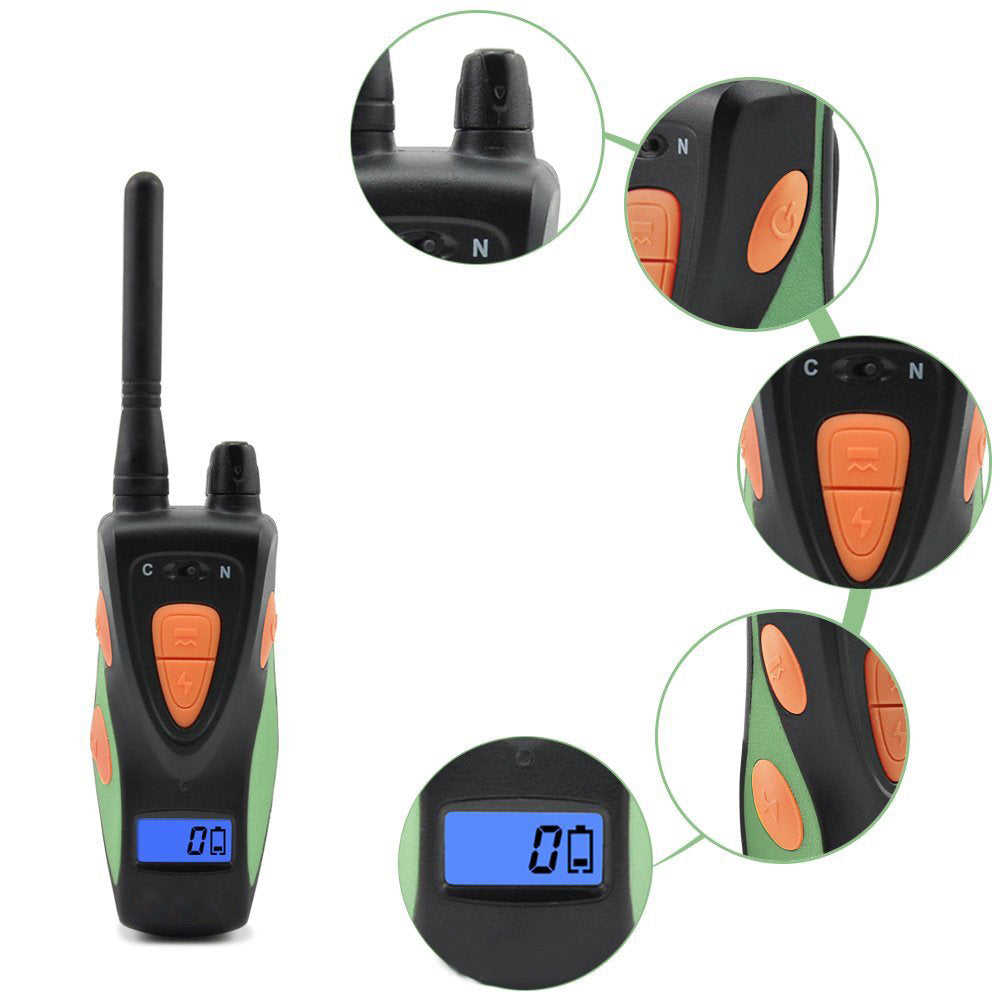 Waterproof Remote 600M Dog Training  Remote Training E-Collar for Medium or Large Dogs 1 or 2 Dogs