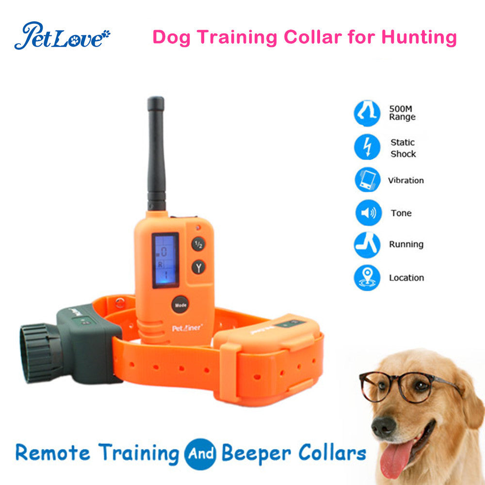 Waterproof and Rechargeabe Dogs Training Collar with Vibration Shock Collar Suitable for Hunting
