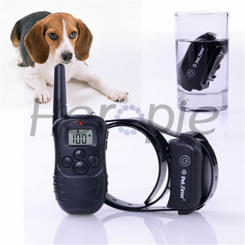 Waterproof and Rechargeable Electronic Shocking Vibration Remote Dog Training Collars Electric Pet training collars Pet Trainer