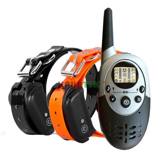 Waterproof and Rechargeable Pet Dog Training Collar 1000m Remote electronic Dog Trainer KP-M86 M86 E613 M613 998DR