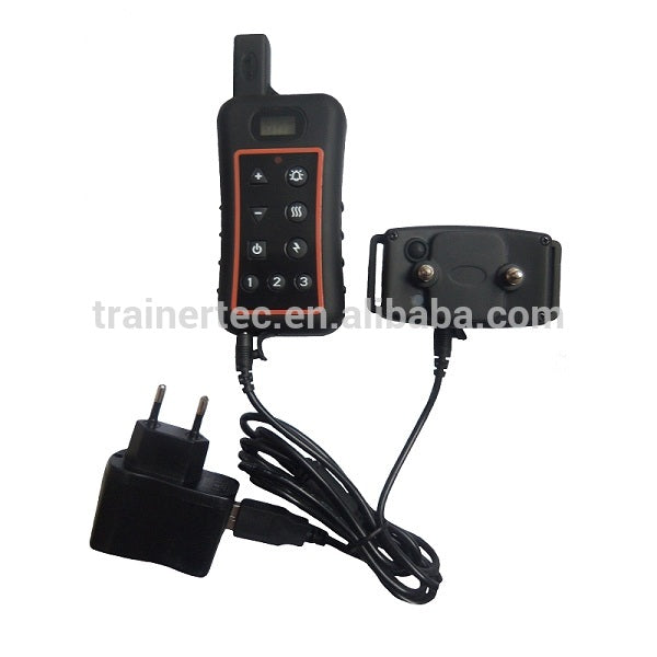 Waterproof transmitter and receiver LCD Display Static Shock 1200 meteres remote control Petrainer Dog Training Collars