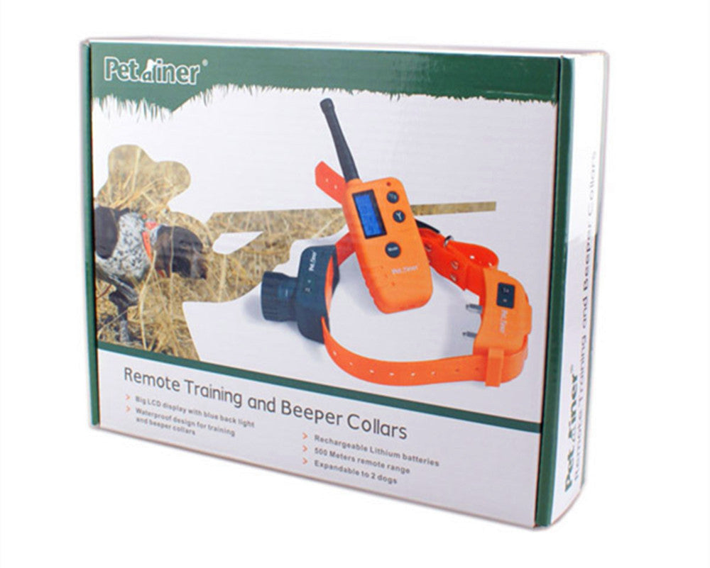 Wholesale-Rechargeable Waterproof 500M Hunting Dog Beeper Training  Collar for Dogs Hunting Equipment