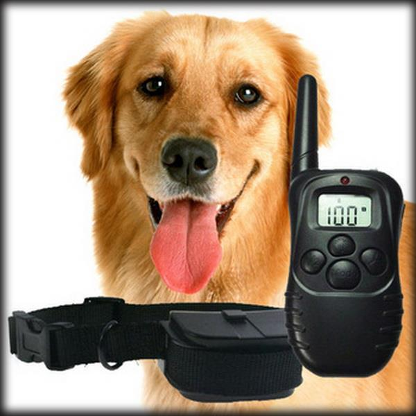 by dhl or ems 20 pcs 100 Level 300meter Electronic Shock Vibra LCD Display Remote Control Pet Dog Training Collar 998D For Dog