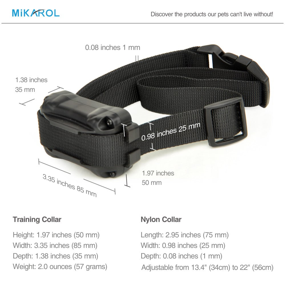 electronic shock trainer dog collar 1000M bark stop dog training collar remote control pet shock electric no bark termintor