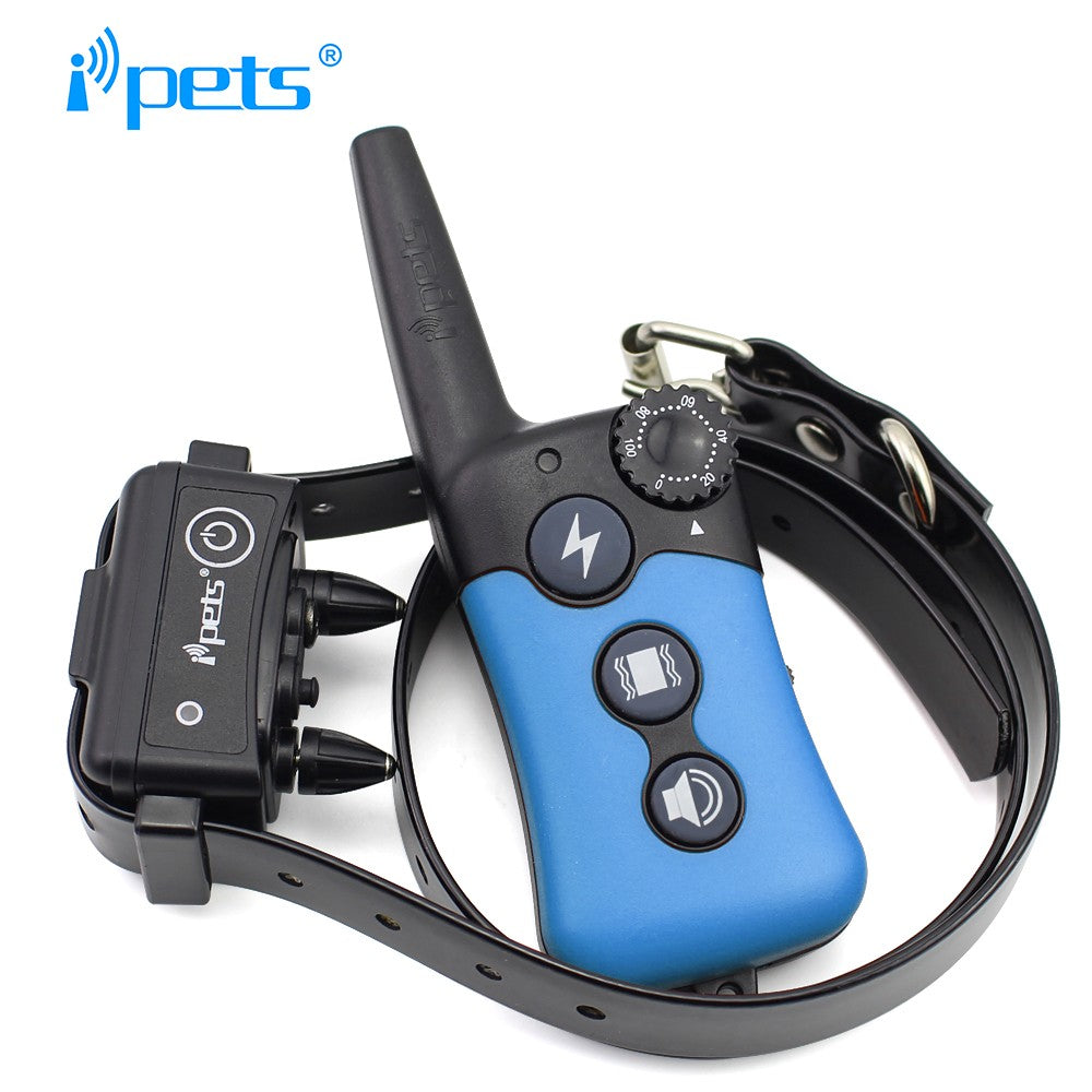 freeship iPets 619 Electric Dog Training Collar Large Dog Training Collars 330 Yard tough&dependa Remote Training Bark Collar
