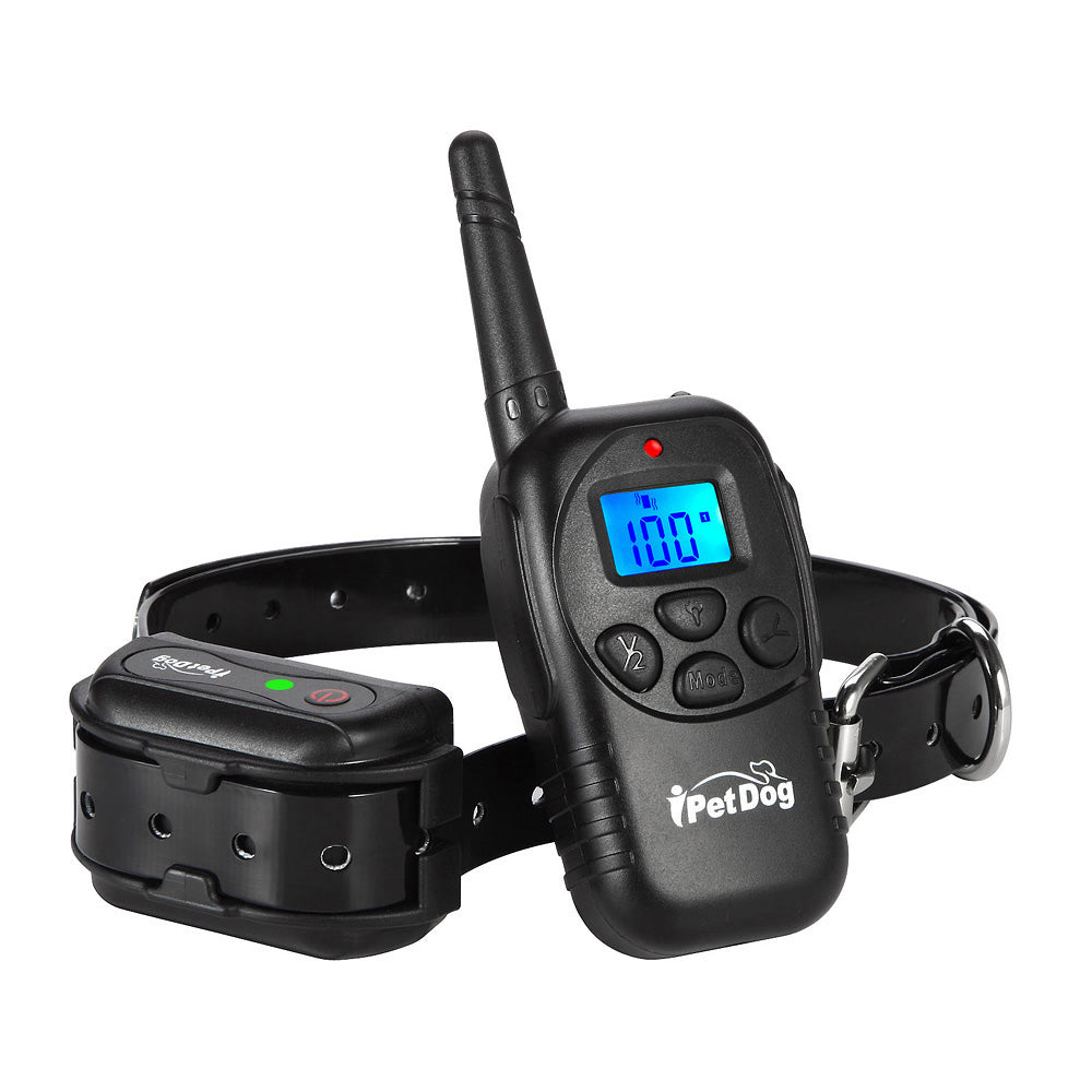 iTrainer dog shock collar with vibrate beep Dog Training Collar iT798 100 levels bark collar