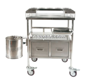 Deluxe Mobile Tool Trolley with Cabinet