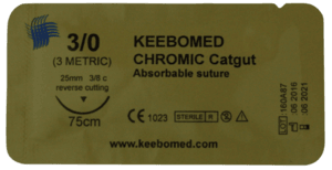 Chromic Catgut,Sutures,Keebomed,KeeboVet Veterinary Ultrasound Equipment.