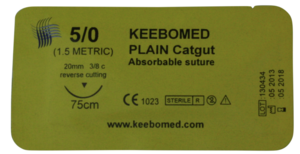 Keebomed Sutures Absorbable Sutures Plain Catgut