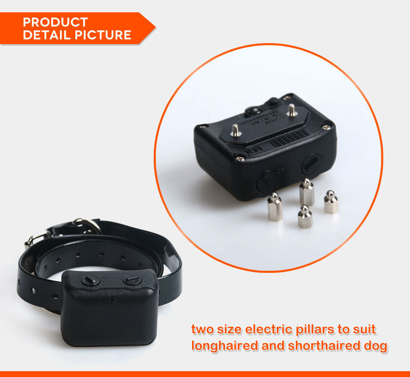 oem Dog training collars anti bark collar remote control dog training collar  shock dog personalized basic collars
