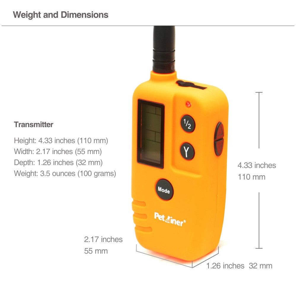 remote control dog beeper training collar hunting collar beeper dog trainer electric shock no bark stop collar