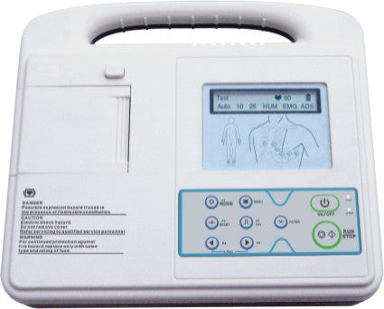SE-1 Single Channel ECG Machine