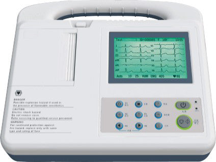 SE-3A Three Channel ECG Machine