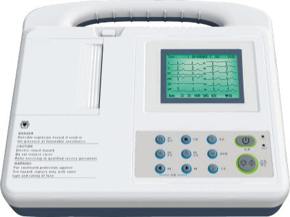 SE-3 Three Channel ECG Machine