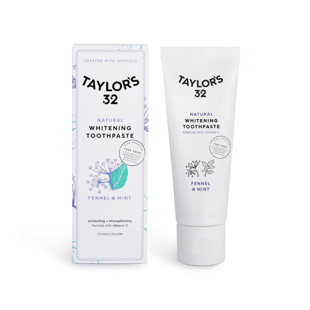 Best Natural Toothpaste - Toothpaste without SLS | Taylor's 32