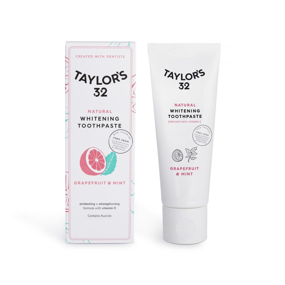 Natural whitening toothpaste - Eco toothpaste | Taylor's 32