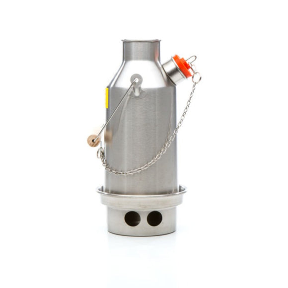 Small 'Trekker' Kelly Kettle (Stainless Steel) 0.6 ltr NEW MODEL
