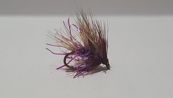 Sedgehog UV Claret Fly
