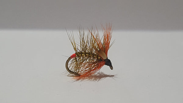 Sooty & Gold Snatcher Fly