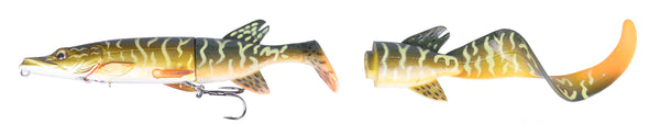 Savage Gear 3D Hybrid Pike 17cm 45gm - Natural Colour