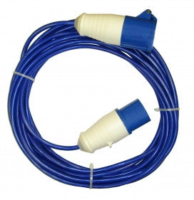 10M Mains Hook Up Lead 16A 2.5mm Sq Cable