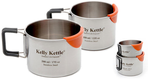 Kelly Kettle Stainless Steel Cup - Set of two