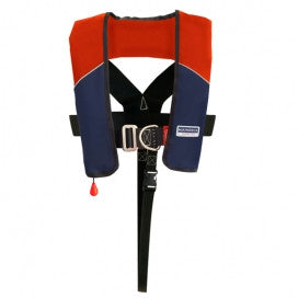 ISO 180N Harness UML Auto Red /Nav Lifejacket