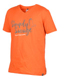SAVAGE GEAR SIMPLY V-NECK TEE - ORANGE