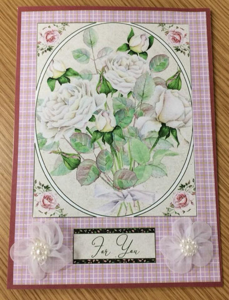 Using Card Fronts to Make Handmade Cards