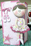 How to Make this Ballerina Gatefold Card