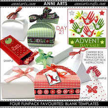 Load image into Gallery viewer, christmas printables 21 Four Favourite Fun Pack Blank Templates