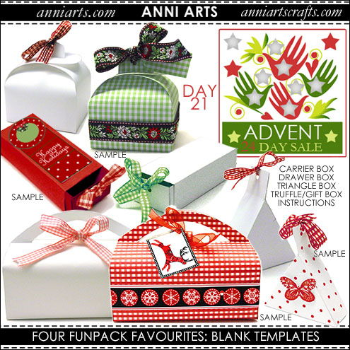 christmas printables 21 Four Favourite Fun Pack Blank Templates