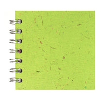 Load image into Gallery viewer, Emerald Green 4x4 Sketchbook - BLACK Pages - 150gsm Cartridge Paper
