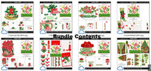 Load image into Gallery viewer, christmas printables advent bundle 1
