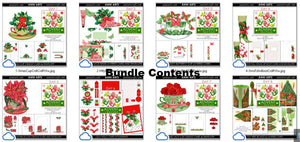 christmas printables advent bundle 1
